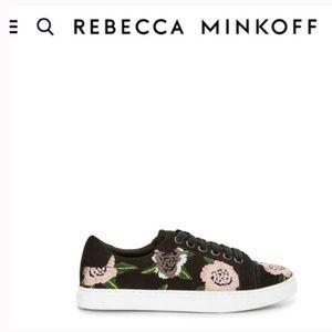 Rebecca Minkoff Bleecker Suede Sneaker 6.5